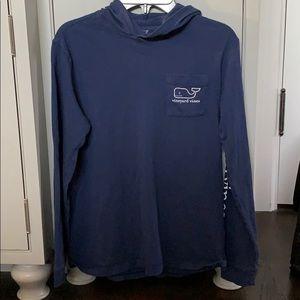 Vineyard Vines Classic Whale long sleeve tshirt